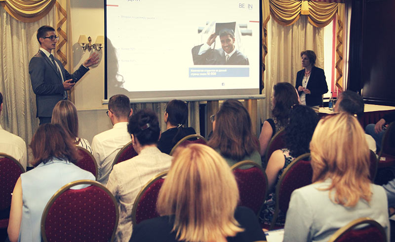 Begin Group business breakfasts in Moscow and Saint Petersburg